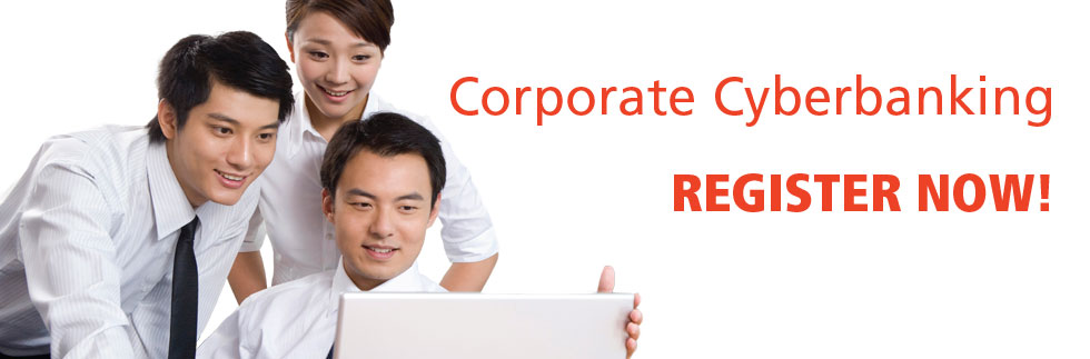 Corporate Cyberbanking Register Now